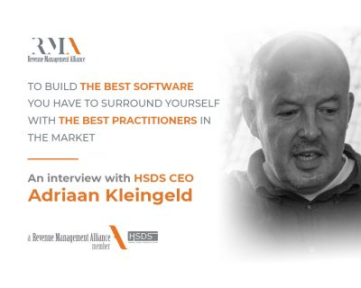 To Build The Best Software You Have To Surround Yourself With The Best Practitioners In The Market – an interview with HSDS CEO – Adriaan Kleingeld
