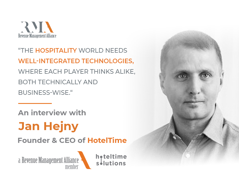 """""""The Hospitality World Needs Well-Integrated Technologies, Where Each Player Thinks Alike, Both Technically and Business-Wise!"""" - an interview with Jan Hejny Founder & CEO of HotelTime Solutions"""